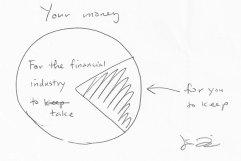 Listen to an insurance agent's financial advice